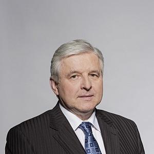 Guvernér Jiří Rusnok.