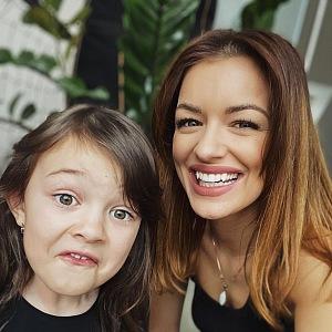 Jitka se svou dcerou.