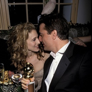 Sarah Jessica Parker and John F. Kennedy Jr.