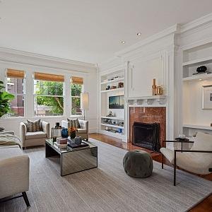 Julia Roberts obývací část vily