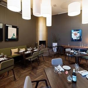 Luxusní interiér restaurace Aromi