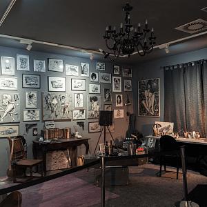 Saudek's studio