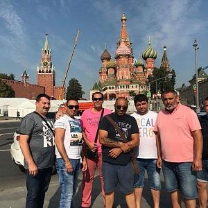 Alexandrova kapela Gipsy Music v Moskvě.