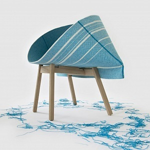 Kenny Chair by Raw Edges for Moroso