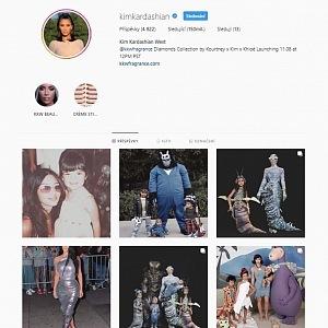 Kim Kardashian na Instagramu