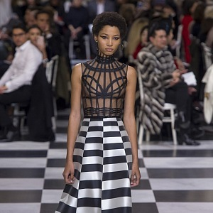 Dokonalý černobílý tah Dior