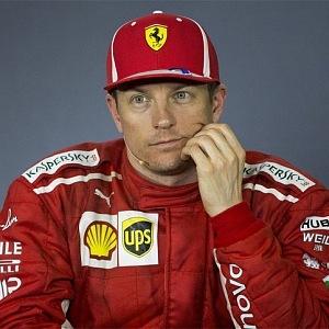 Kimi Raikkonen z týmu Ferrari