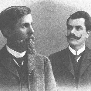 Václav Klement a Václav Laurin