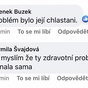 Komentáře fanoušků na facebooku.