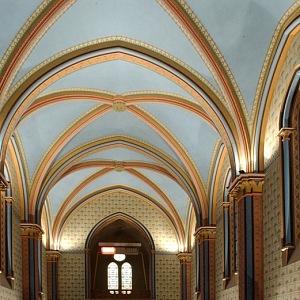 Nádherné prostory Sacre Coeur