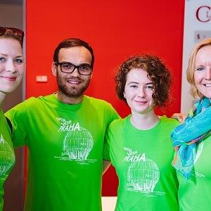 Dobrovolníci Open House Praha