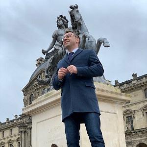Vladimír Kremlík na cestách.