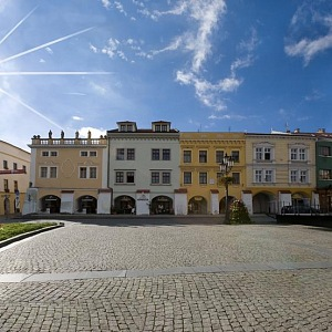 Kroměříž a hotel U Zlatého kohouta