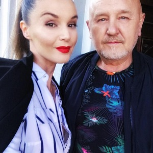 Kubelková s partnerem Jiřím Jiráskem.