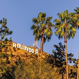 Hollywood Hill - ikona Hollywoodu