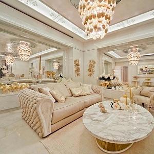 Jachta nádherný interiér Lidia Bersani Luxury Design