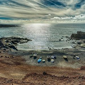Kanárský ostrov Lanzarote