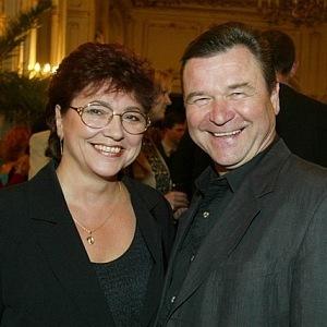 Václav Postránecký with wife