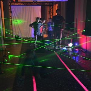 Veletrh Vědy a techniky 2018, Laserové bludište