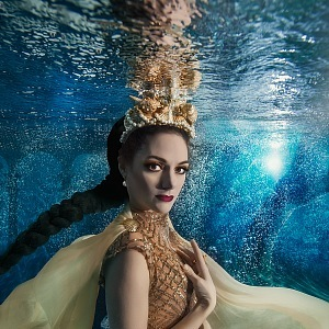 mořská bohyně Dóris - Klára Issová