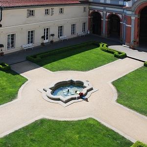 Lebedurská zahrada součástí Palácových zahrad