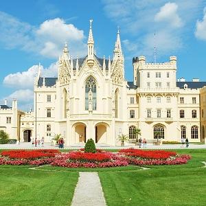 Překrásný zámek Lednice