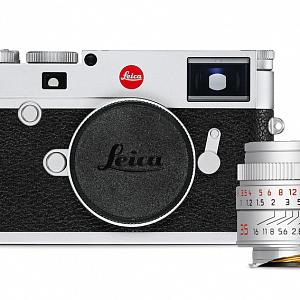Fotoaparát Leica M10, stříbrný typ