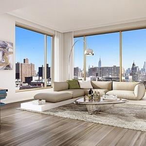 Interiér bytu v NY City