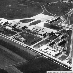 The airport in 1938