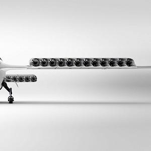 Letecké taxi Lilium Jet