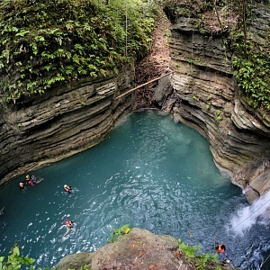 Canyoneering Filipíny