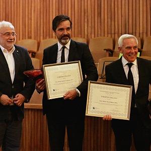 Profesor Lischke a Pafko s cenou České transplantační nadace za rozvoj transplantační medicíny za rok 2015