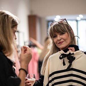 Chantal Poullain italská móda zaujala