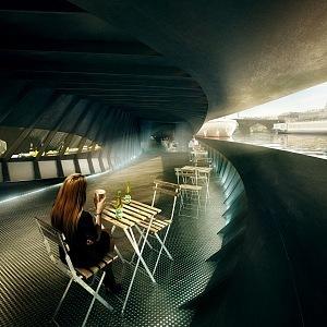 Lodní terminál, interiér
