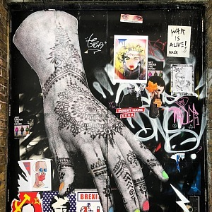 A graffiti has its history and culture in London