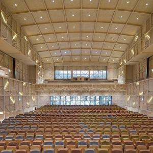 Moderní auditorium v Le Rosey
