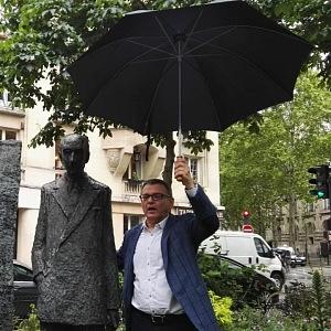 Ministr kultury Lubomír Zaorálek na cestách