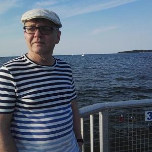 Lubomír Zaorálek na lodi
