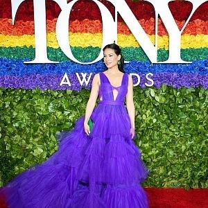 Lucy Liu - šaty Christian Siriano