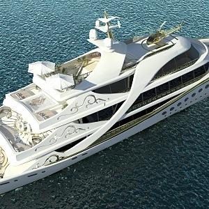 Luxusní jachta La Belle
