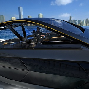 Luxusní jachta Lamborghini 63