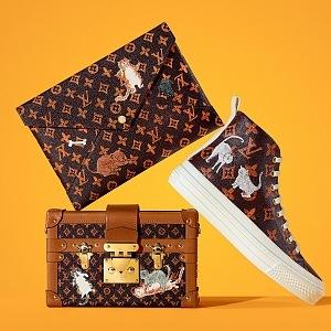 psaníčko Pochette Kirigami, tenisky Stellar Sneaker Boot