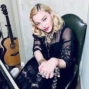 Slavná zpěvačka Madonna