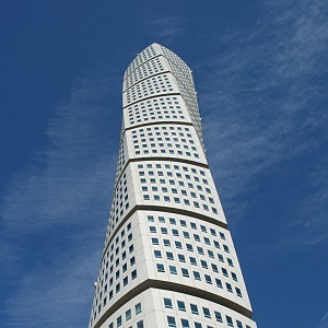 Turning Torso - nejvyšší budova Skandinávie