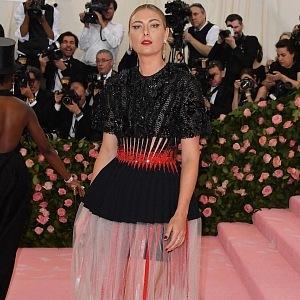 Maria Sharapova - šaty Givenchy