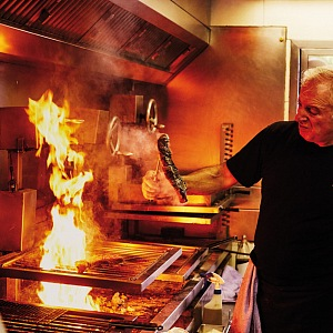 Asadot Etxebarri Axpe, šéfkuchař v akci