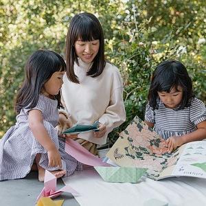 Marie Kondo s dcerami