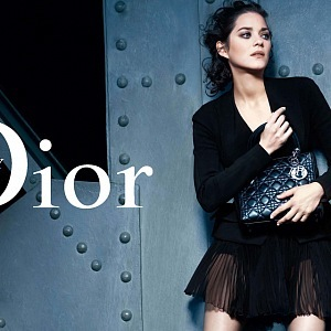 Marion Cotillard, face of Dior 2008