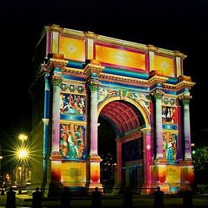 Porte d'Aix v Marseille.