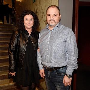 Martina s manželem Martinem Preissem.
